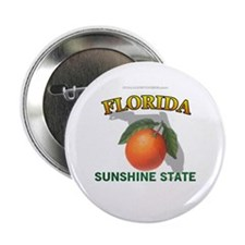 "Florida Sunshine State 2.25"" Button (10 pack)"