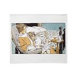 1930's Lullabye Throw Blanket