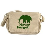 Never forget Messenger Bag