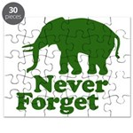 Never forget Puzzle