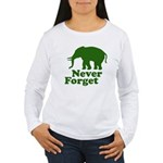 Never forget Women's Long Sleeve T-Shirt