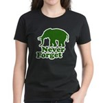 Never forget Women's Dark T-Shirt