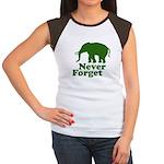 Never forget Women's Cap Sleeve T-Shirt