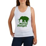 Never forget Women's Tank Top