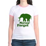 Never forget Jr. Ringer T-Shirt