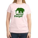 Never forget Women's Light T-Shirt