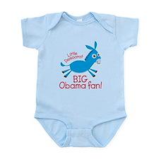 Big Obama Fan Onesie