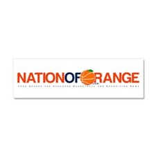 Cute Syracuse orange Car Magnet 10 x 3