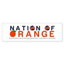 Cute Syracuse orange Bumper Sticker