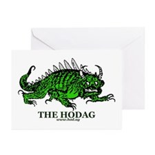Rhinelander Hodag Greeting Cards (Pk of 10)