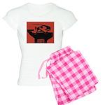 Stylish Hammer & Sickle Women's Light Pajamas