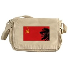 Lenin Soviet Flag Messenger Bag