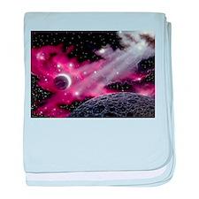 Galaxy Nebula baby blanket