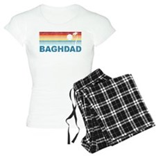 Retro Palm Tree Baghdad Pajamas
