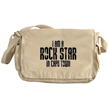 Rock Star In Cape Town Messenger Bag