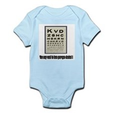 Eye Check-Up Infant Creeper