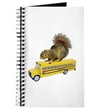 Squirrel on School Bus Journal
