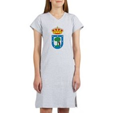 Madrid Coat Of Arms Women's Nightshirt