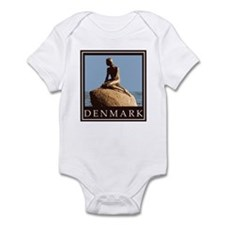 Denmark Little Mermaid Infant Bodysuit