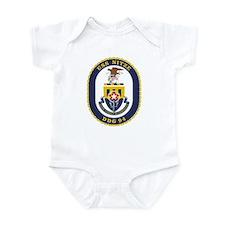 USS Nitze DDG 94 Infant Creeper