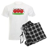 Singing Tomatoes Men's Light Pajamas