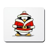 Santa Claus penguin Mousepad