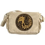 Celtic Unicorn Messenger Bag