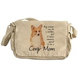 Corgi Mom Messenger Bag