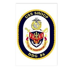 USS Shoup DDG 86 Postcards (Package of 8)