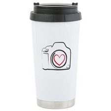I Heart Photography Ceramic Travel Mug
