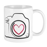 I Heart Photography Coffee Mug