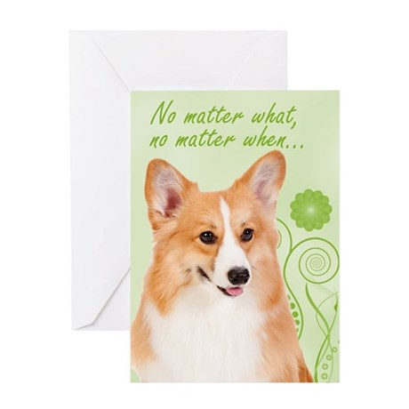 Pembroke Corgi Love/Support Card
