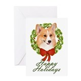 Pembroke Corgi Xmas Card