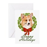 Pembroke Corgi Xmas Cards (Pk of 10)
