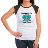 Fight is On Ovarian Cancer Tee
