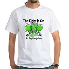 Fight Non-Hodgkins Lymphoma White T-Shirt