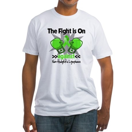 Fight Non-Hodgkins Lymphoma Fitted T-Shirt