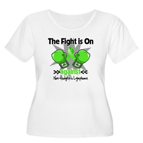 Fight Non-Hodgkins Lymphoma Women's Plus Size Scoo