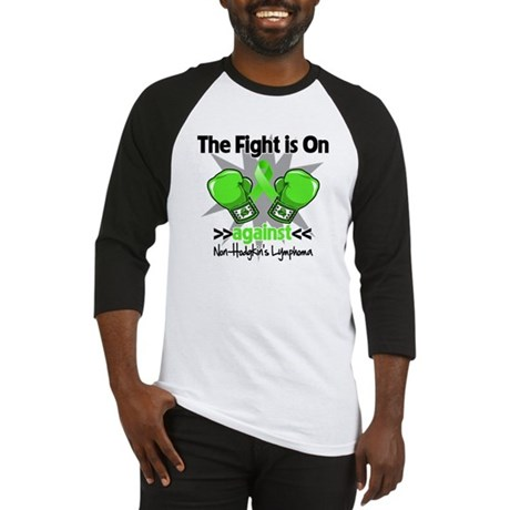 Fight Non-Hodgkins Lymphoma Baseball Jersey