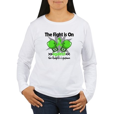 Fight Non-Hodgkins Lymphoma Women's Long Sleeve T-