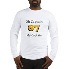 My Captain 87 Long Sleeve T-Shirt