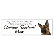 German Shepherd Mom Car Sticker
