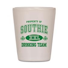 Southie Irish Drinking Team Shot Glass