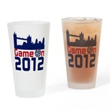 Game On 2012 Drinking Glass