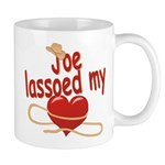 Joe Lassoed My Heart Mug