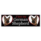 German Shepherd Car Sticker