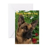 German shepherd dogs Greeting Cards