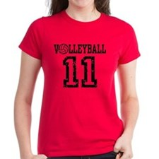 Volleyball 11 Tee