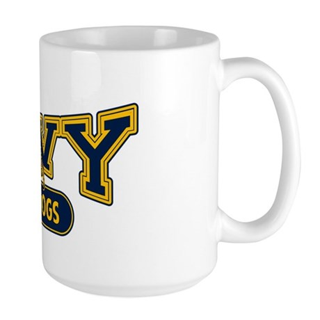 Navy Working Dogs Large Mug