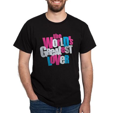 World's Greatest Lover Dark T-Shirt